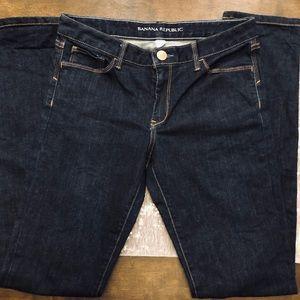 Banana Republic Dark Wash Skinny Jeans